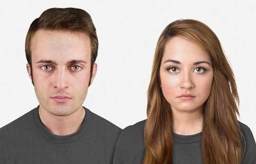 هكذا يبدو وجه الإنسان بعد 20 الف عام