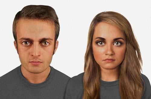 هكذا يبدو وجه الإنسان بعد 60 الف عام