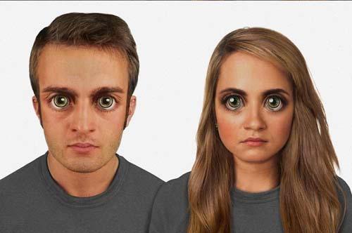 هكذا يبدو وجه الإنسان بعد 100 الف عام