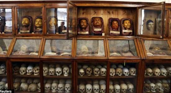 من متحف لومبروزو للأنثروبولوجيا الجنائية